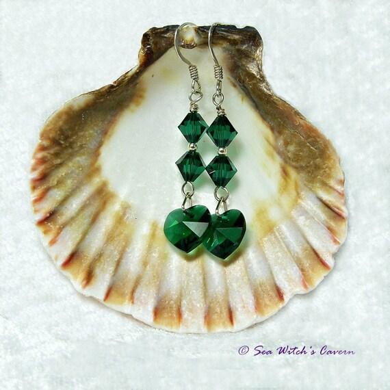 Collar de noviembre Piedra Citrino 9ct Oro Corazón Con Swarovski ® Crystal 9k