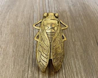 Old gold  Beetle drawer knobs / Beetle cabinet / Gothic Home Decor / Animal Shaped drawer knobs / Furniture Hardware,Z-791