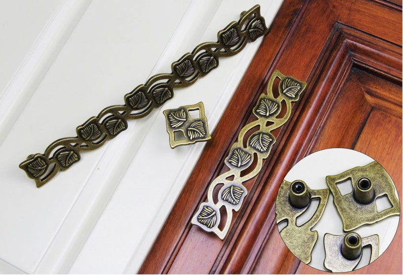 Handmade Vintage Antique Drawer Knobs Pulls HandlesDresser Knobs Cabinet Pull handles  Furniture Hardware