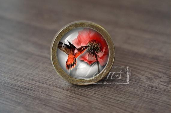 kolibri handgemachte vintage antik schublade kn pfe griffe etsy. Black Bedroom Furniture Sets. Home Design Ideas