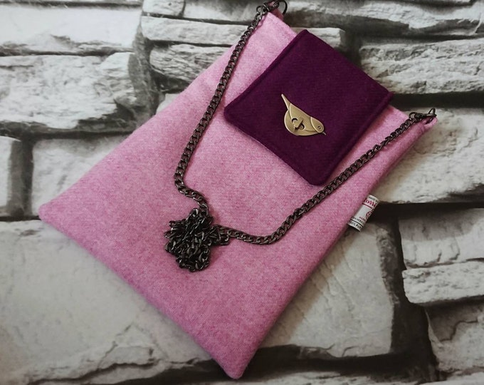 SALE ** Harris Tweed cross body/shoulder bag