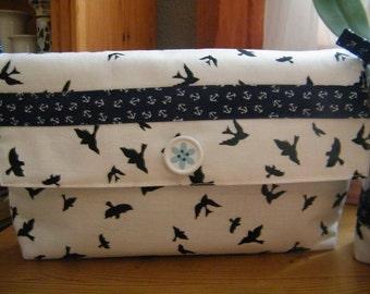 Clutch anchor fabric