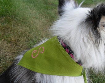Monogram Dog Bandana
