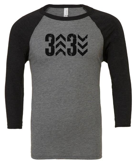 8fb4dcd71 ORIGINAL Adult 3 Up 3 Down Baseball Shirt Raglan Baseball | Etsy