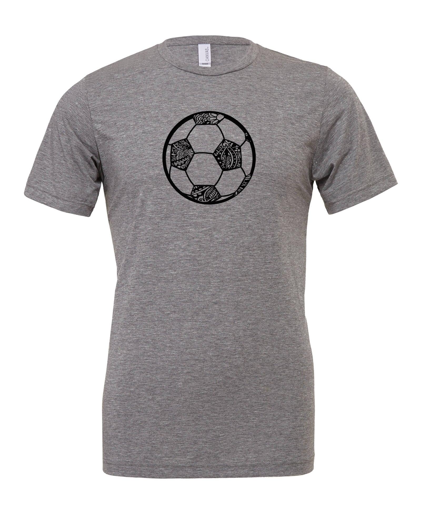 Unisex Soccer Ball Shirt Soccer Design Soccer Tee Soccer Shirt
