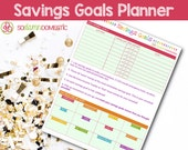 Savings Goals Printable Planner