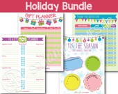 Holiday Bundle with Bonus - Printables
