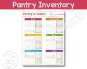 Pantry Food Inventory Printable