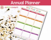 Best Year Ever Annual Planning Sheet