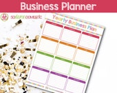 Annual Business Planning Sheet