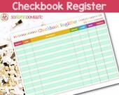 Checkbook Register Printable