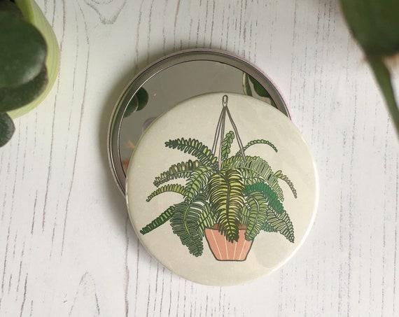 Fern Pocket Mirror