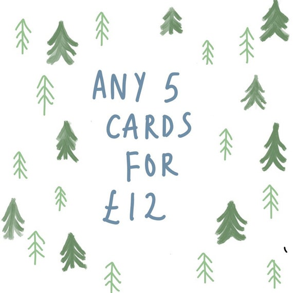 Any 5 Greetings Cards!