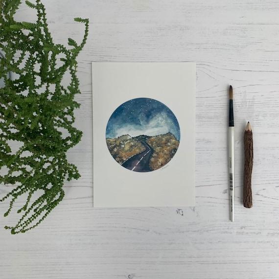 Road A5 Print