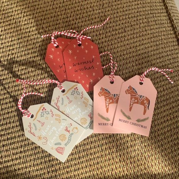 Christmas Gift Tags x 6