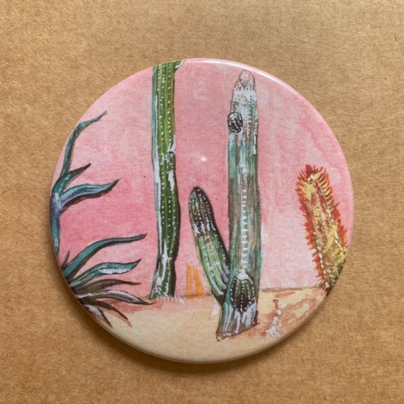 SECONDS / Cactus Pocket Mirror