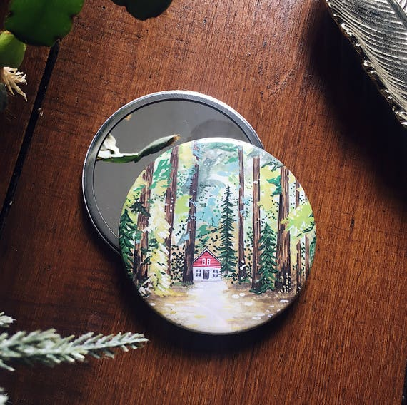 SECONDS / Cabin In The Woods Pocket Mirror