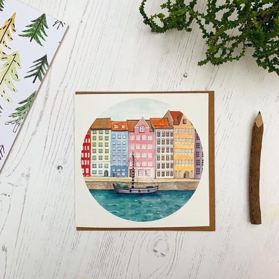 Copenhagen Greetings Card