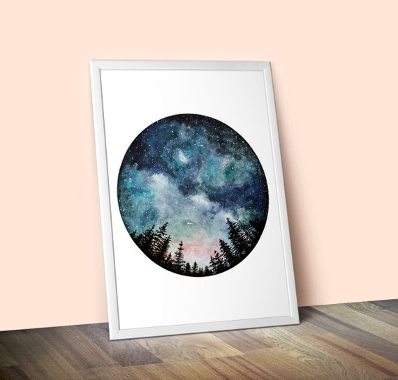 Limited-Edition Starry Sky Giclee Print A2