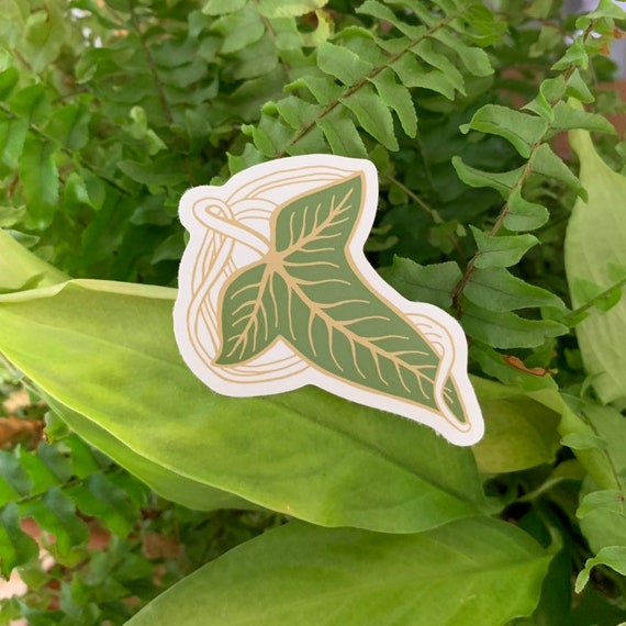 Leaf Vinyl Sticker