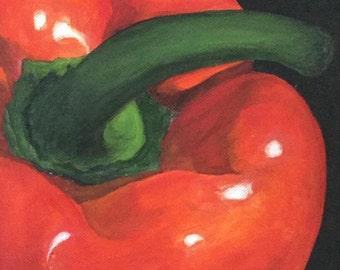 Red Pepper 6 x6