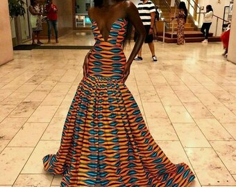 African Dresses for Prom