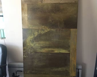 Steel Door Panels barn doors DRIFTWOOD-Acid Washed Steel Door