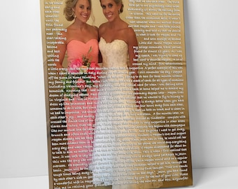 maid of honor speech sister of the bride gift gift for sister gift from bridesmaid to bride bridal shower gift personalized gifts