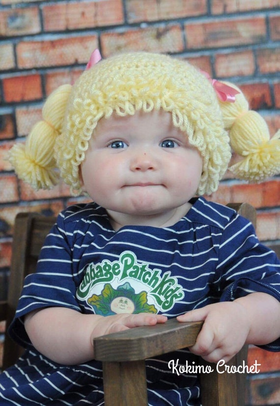 Cabbage Patch Hat Doll Costume Halloween Costume Cabbage Etsy