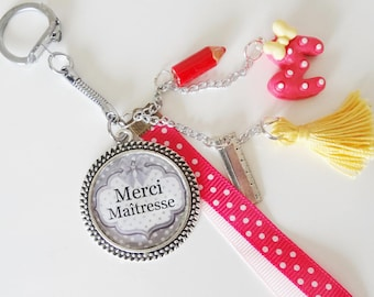Thank you Keychain mistress, jewelry bag for gift