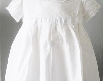 9b471581540cb robe de baptême pour bébé de 12 mois - robe de cérémonie blanche - robe pour  enfant