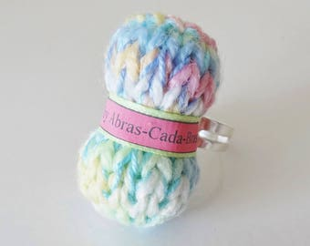 Adjustable ring multicolor yarn (customizable)
