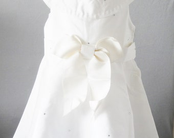 Cotton summer dress for baby
