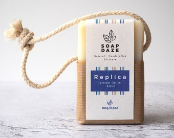 Replica Soap on a Rope, extra large, vegan soap