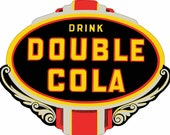 Double Cola Plaque Metal Sign