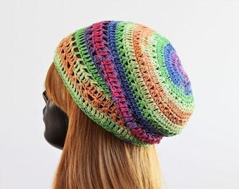 8dd84d5ccc80c Women s slouchy summer beanie hat