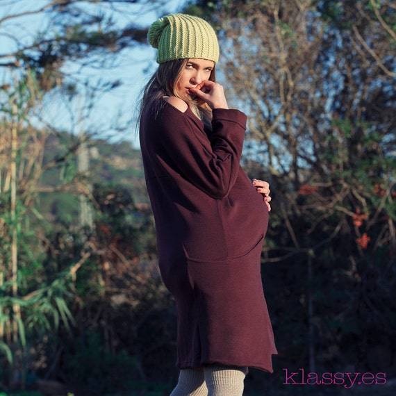 Pregnant winter clothing, clothes premama winter VASEF burdeos