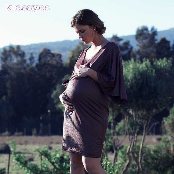 Party maternity dress, pregnancy dress. PIELE