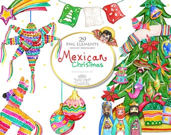 mexican christmas etsy
