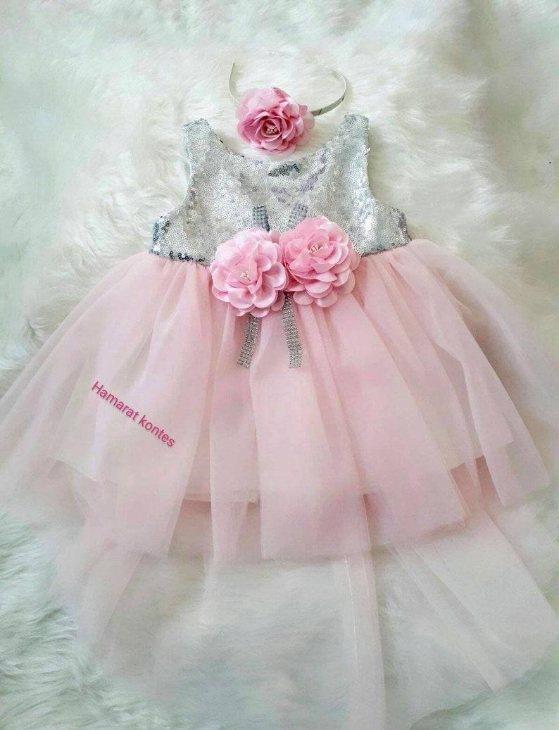 151e8f8b1fbc Wedding Baby Girl Dress Toddler Christmas Outfit Christening