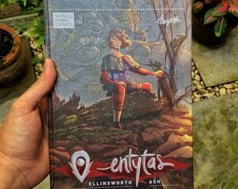Entytas Comic book (Vol.1 and Vol. 2)