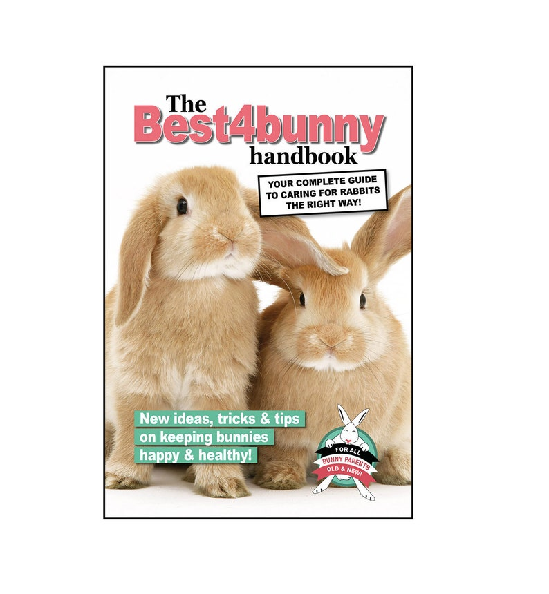 The Best4bunny Handbook  Rabbit care guide for old & new image 0