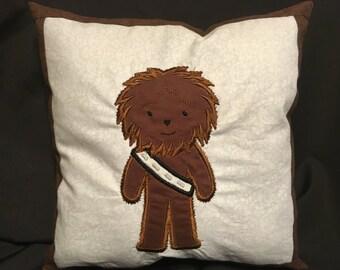 Chewbacca, Chewy, Starwars, Chewy Pillow, Chewbacca Pillow, Starwars Pillow
