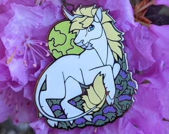 Unicorn Enamel Pin (Glows in the Dark!)