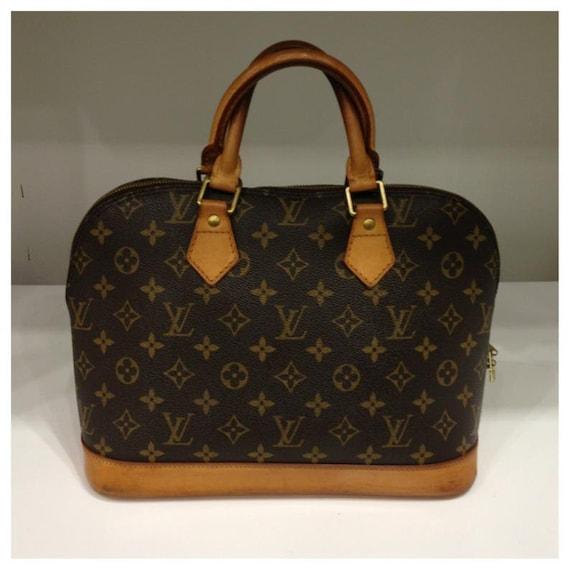 Louis Vuitton Monogram Alma Bag, Guaranteed Authen