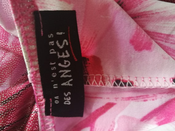 Stunning No nest  pas des Anges  French jersey fl… - image 6