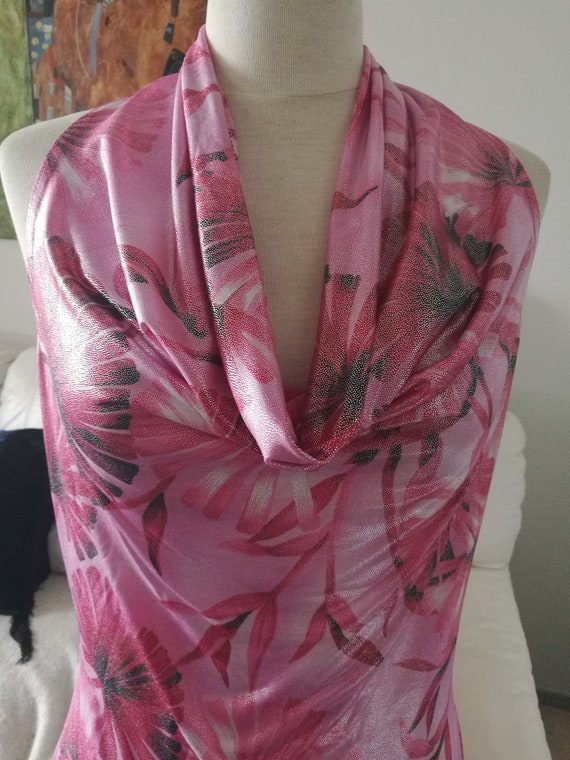 Stunning No nest  pas des Anges  French jersey fl… - image 4