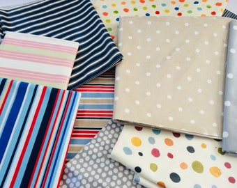 Roll Ends for Craft Use 2kg Bag of Cotton Oilcloth Offcuts Remnants Bundle