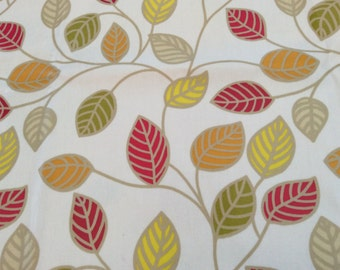 Oilcloth Fabric, PVC Coated, Orla Autumn Branches, Per Meter