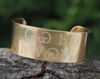 Wolf You Feed Cuff, Cherokee Bracelet, Cherokee Wolf, Cherokee  Language, Cherokee Jewelry, Native American Jewelry